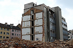 Lost Place: Hohenstaufenstr. 13-27 in Frankfurt
