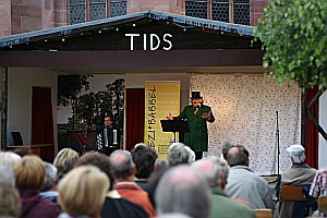TIDS-Bühne: Rezibabbel on stage