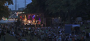 Eagles-Tribute-Band Igels im Frankfurter Brüningpark